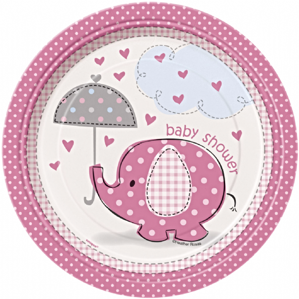 Pink Umbrellaphants
